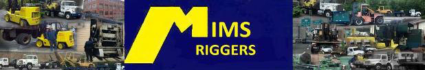 mims riggers trucks forklifts cnc machines press